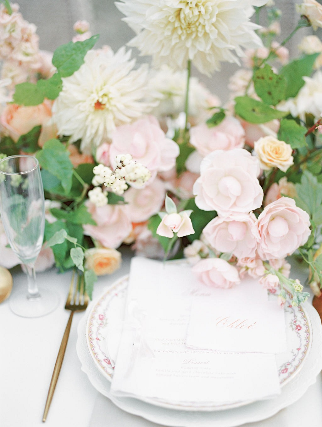 Beautiful Pastel French Countryside Wedding Ideas