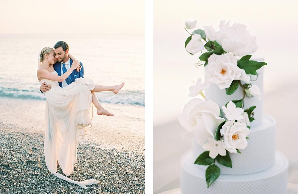 Tips for planning a wedding in Greece | Wedding Sparrow fine art wedding blog