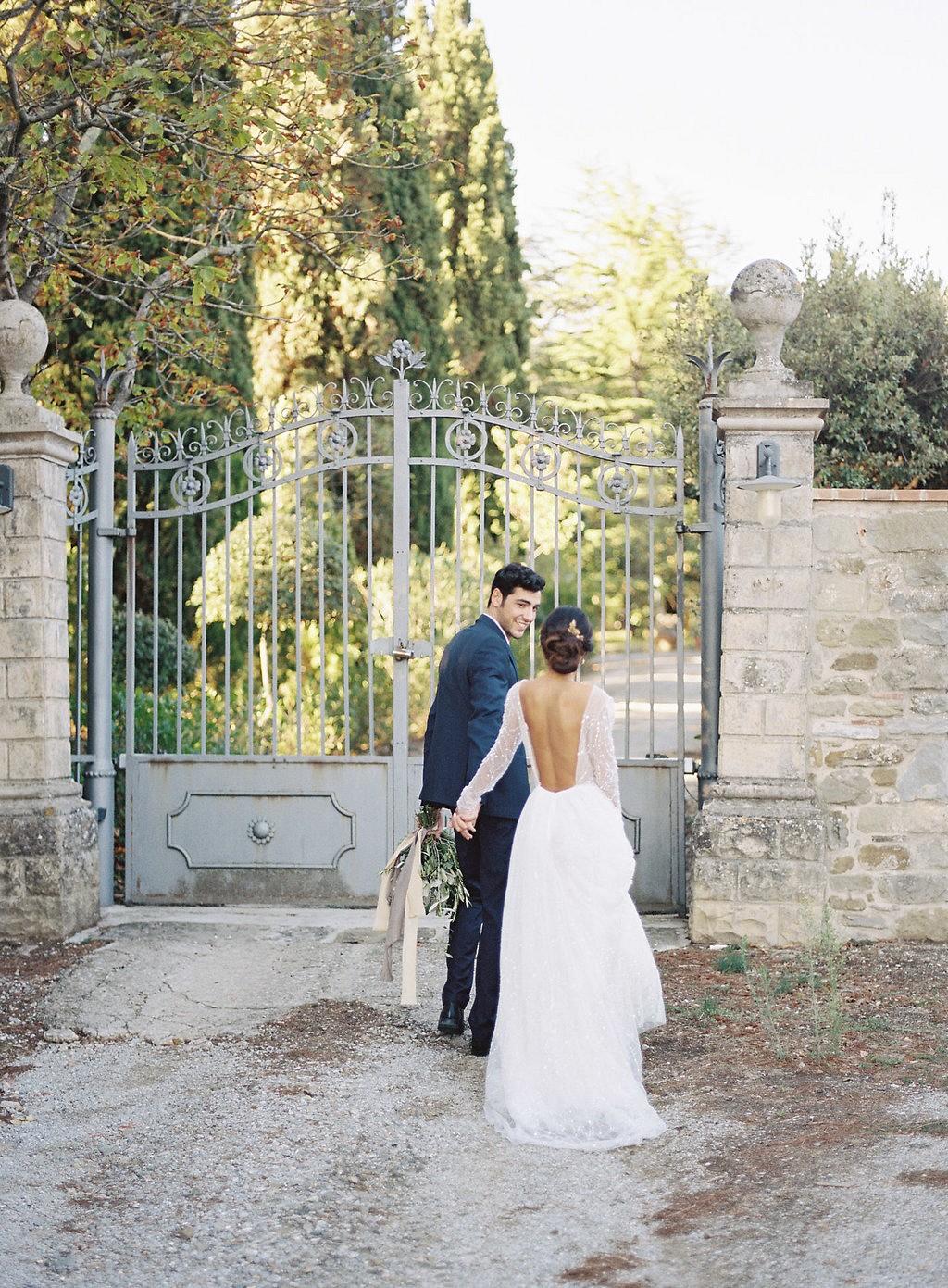 Romantic Tuscan Villa Elopement