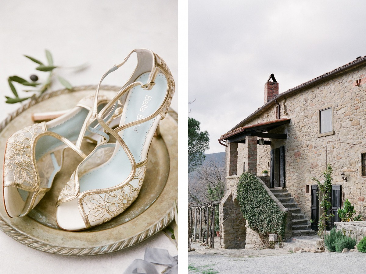 Tuscany Wedding Style with French Blue & Chandelier Reception