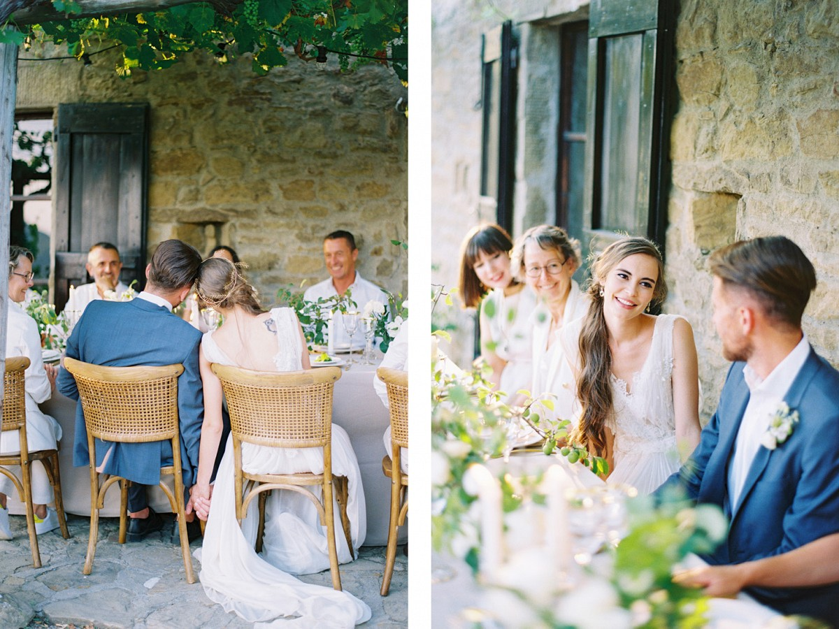 ​Romantic Organic Destination Wedding at Villa Montanare in Tuscany