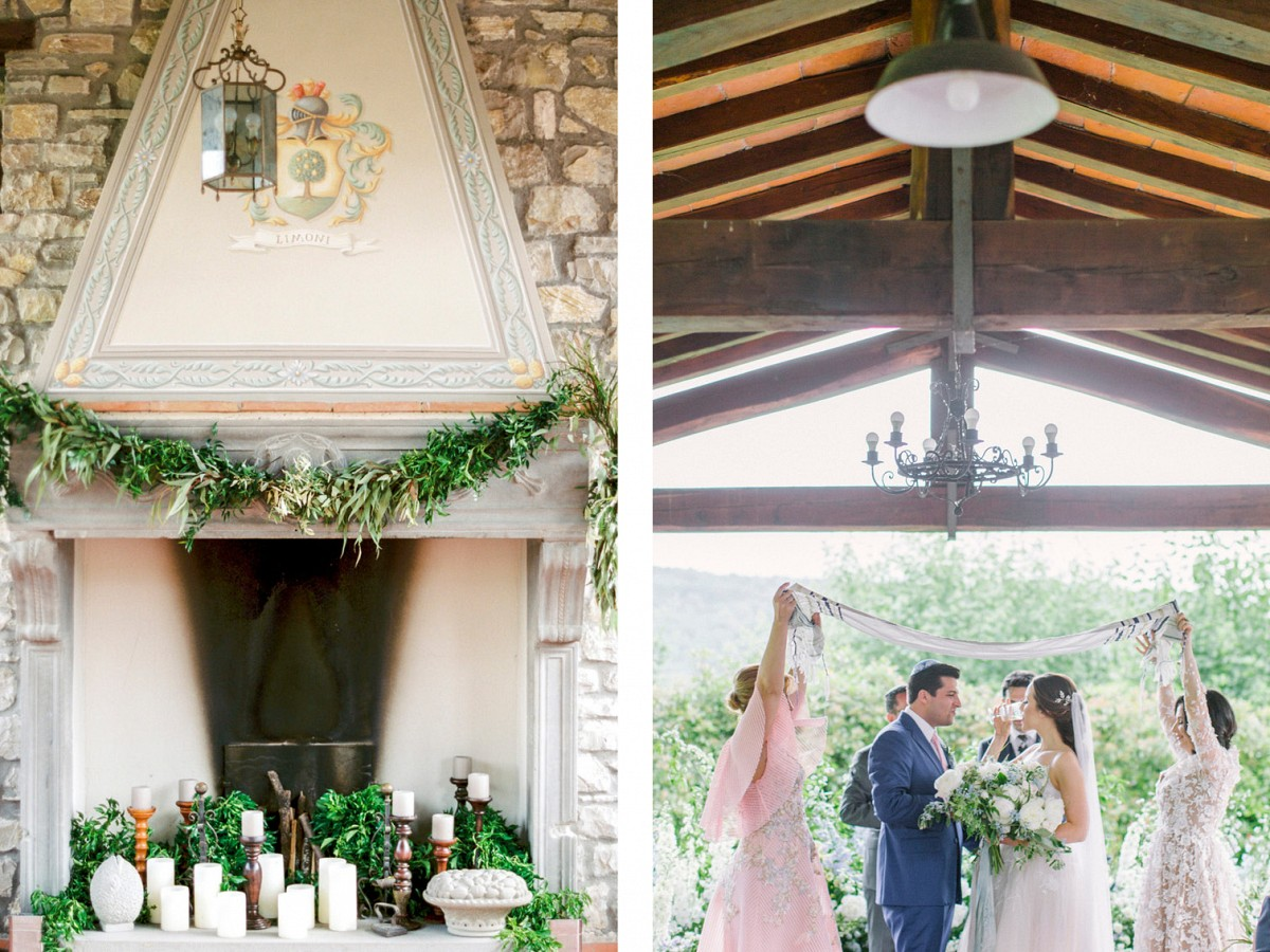 Rustic Tuscan Real Wedding at Borgo Corsignano