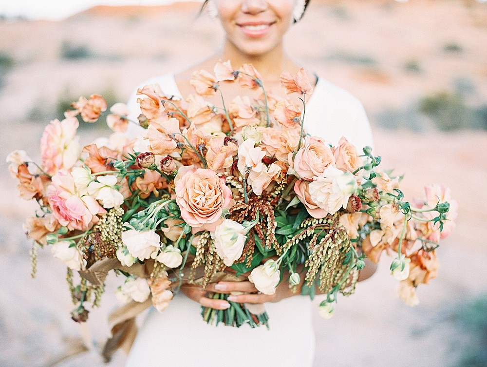 Valley of Fire - Burnt Orange and Rust Wedding Inspiration
