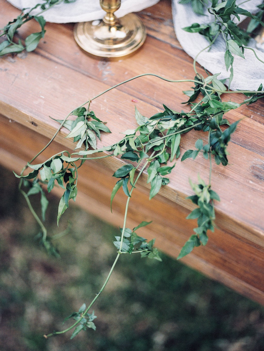 Romantic Outdoor Wedding with Muted Colors