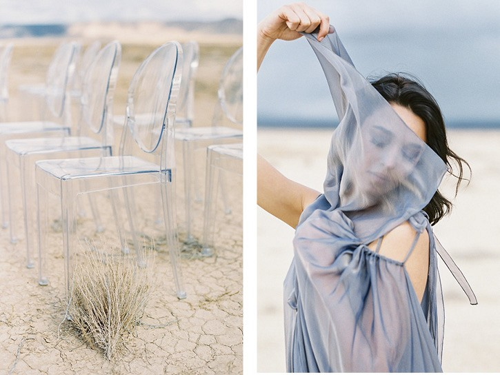 Painterly Desert Wedding Inspiration
