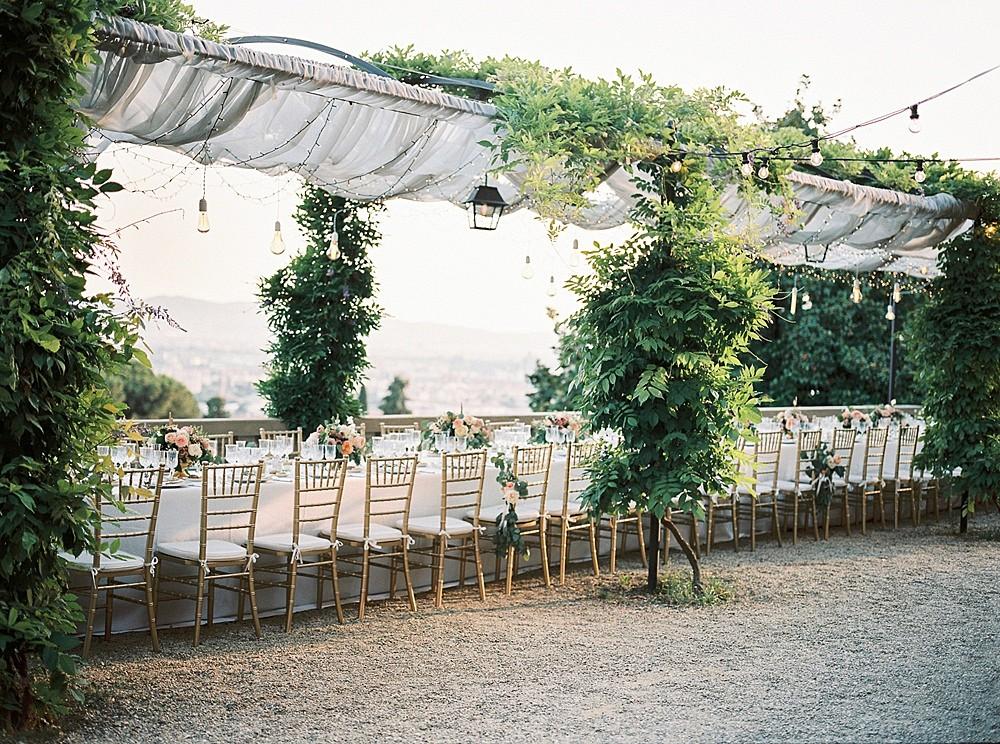 Jane and Jason's Elegant Outdoor Wedding in Tuscany
