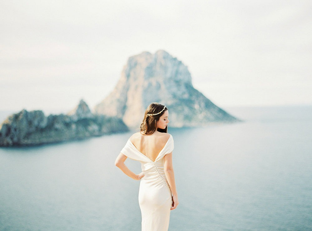 Ethereal Rose Quartz Bridal Inspiration in Ibiza
