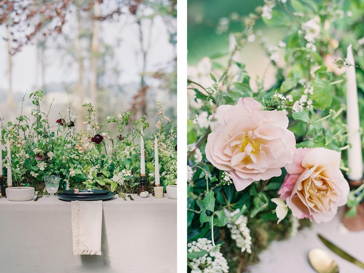 Mid Century Modern Inspired Wabi Sabi Wedding Ideas