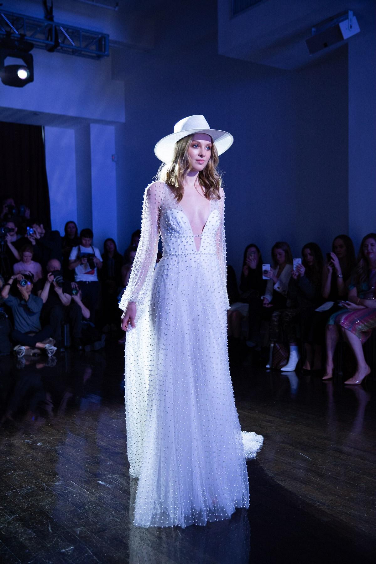 Wedding Trends from New York Bridal Fashion Week 2019