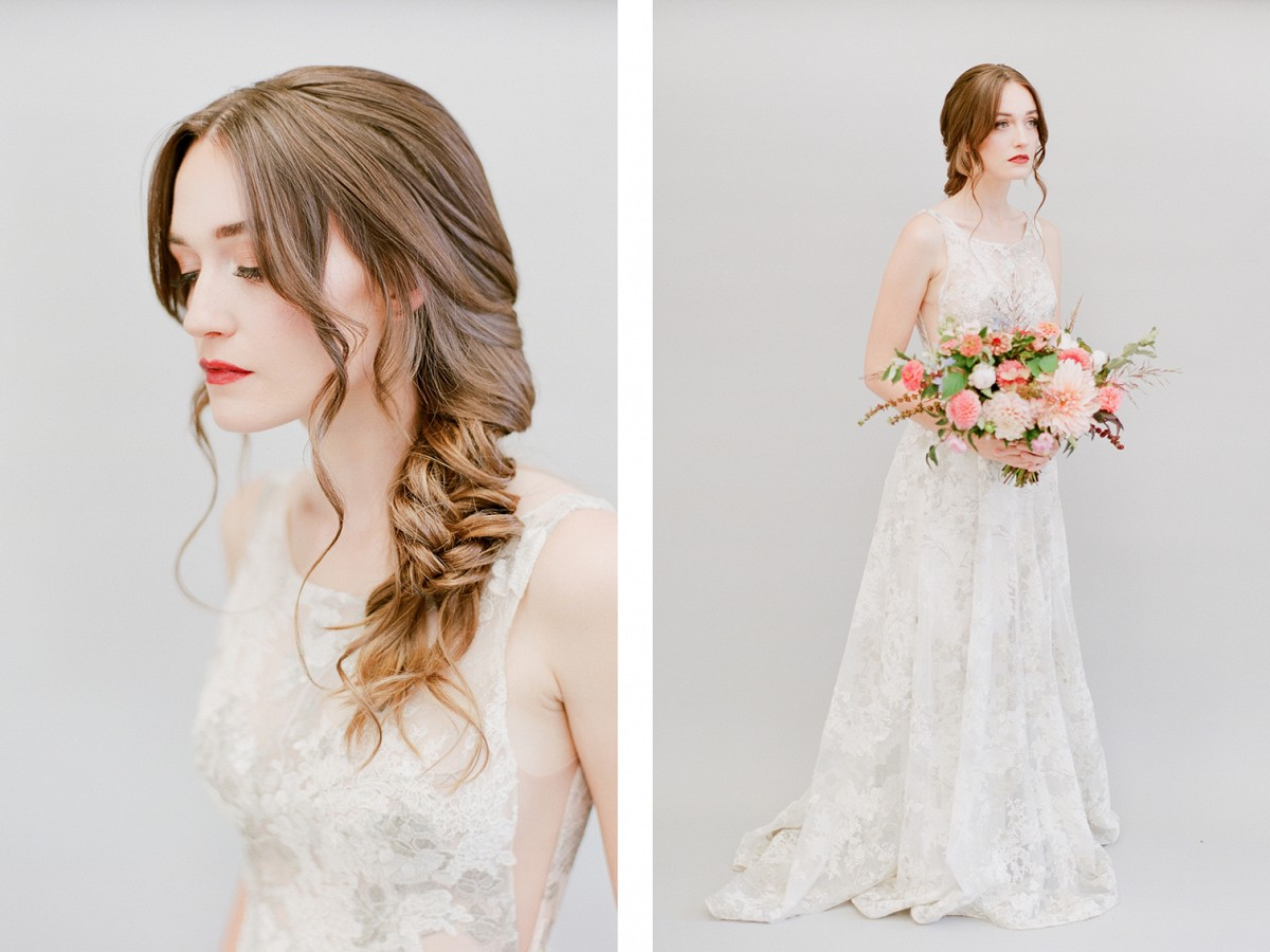 Top 3 Wedding Hairstyles for Long Hair