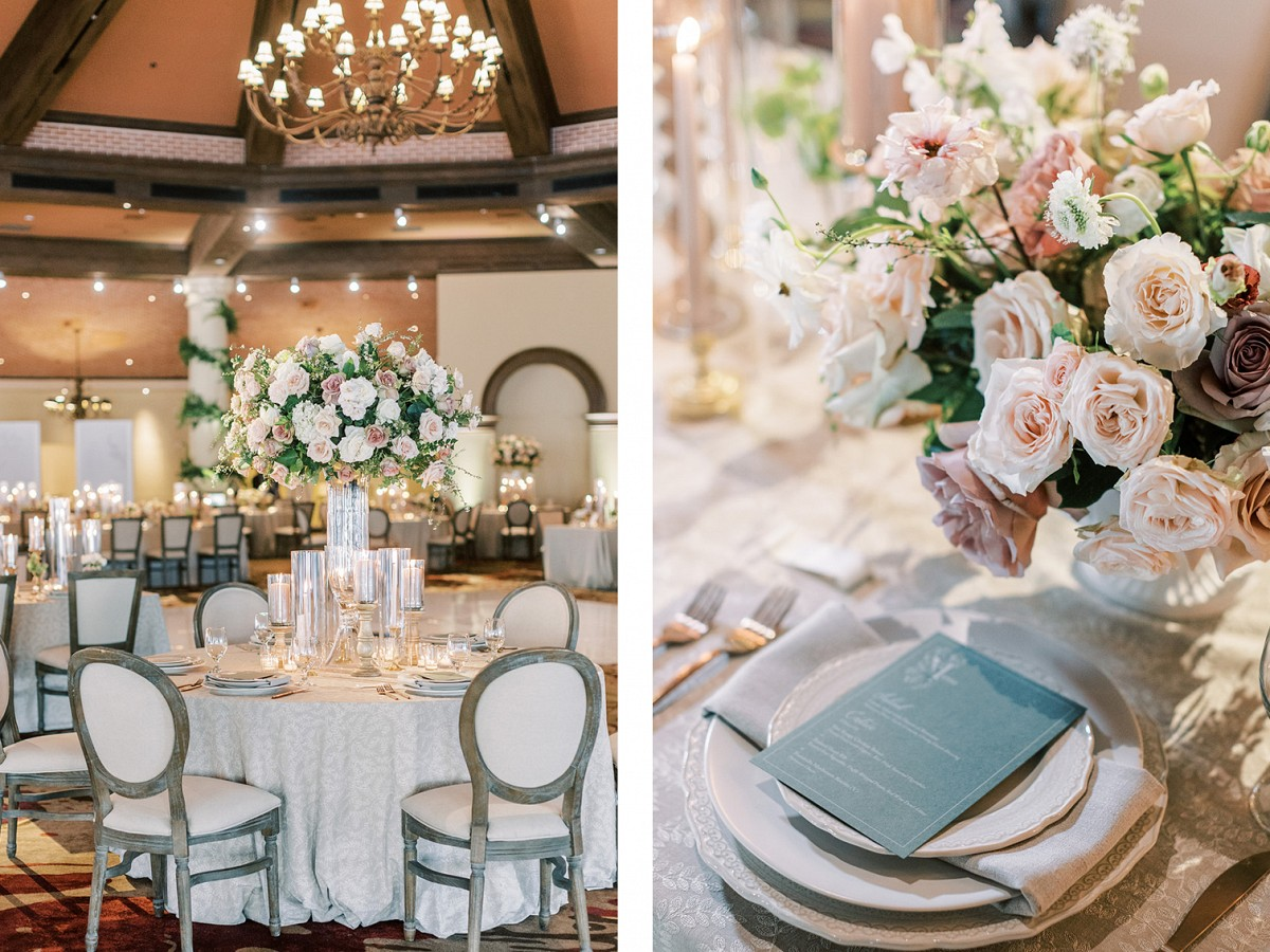 Blush floral inspiration by Lianna Marie Photography