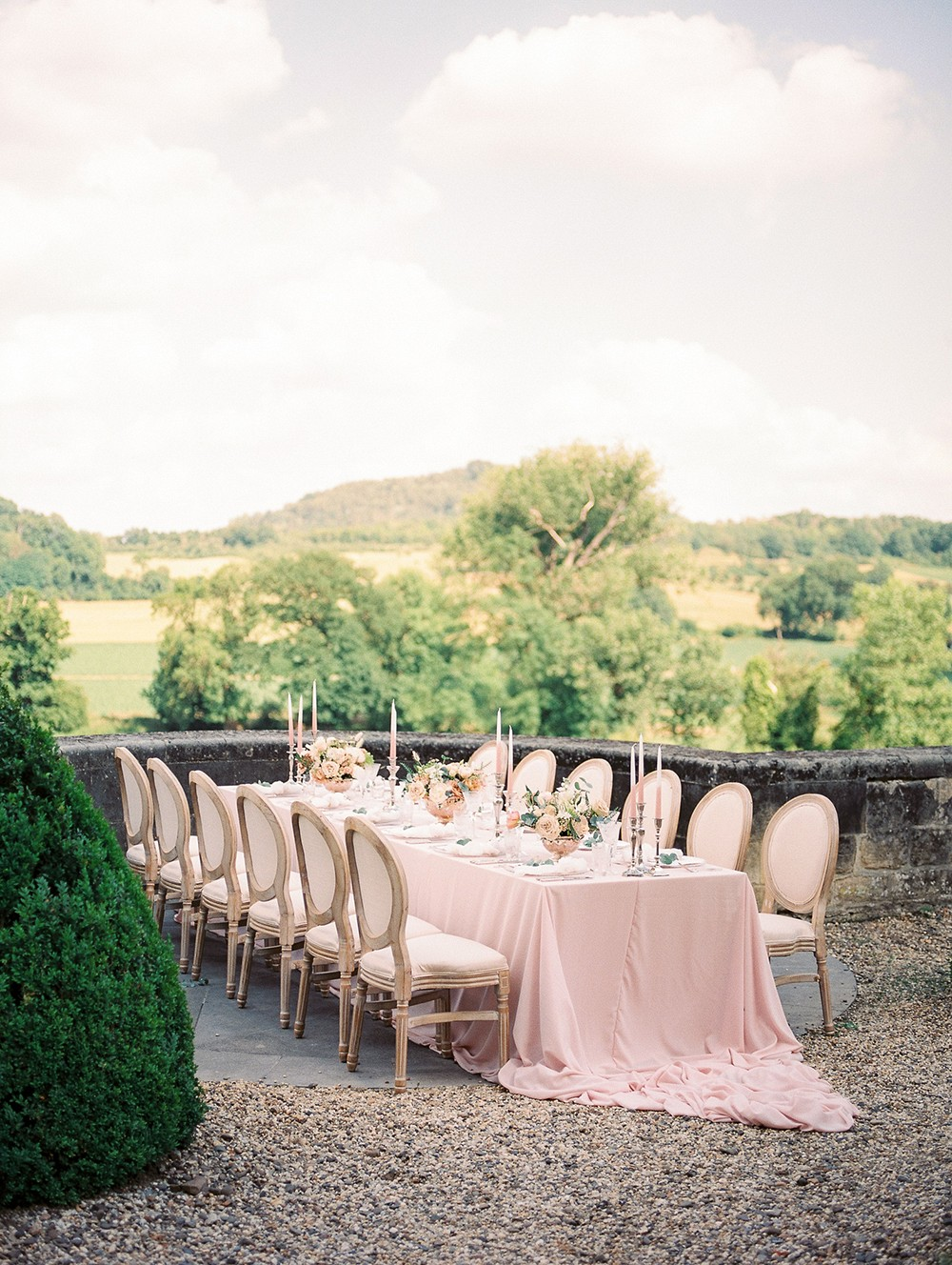 A Sweet & Stylish Chateau Wedding in The Netherlands