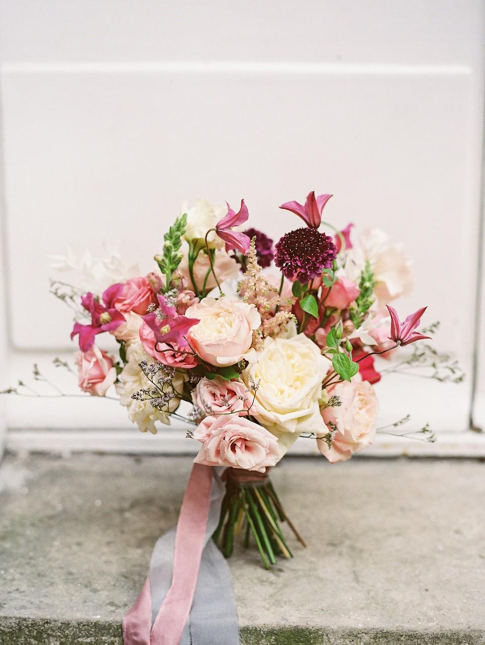 dark plum bouquet