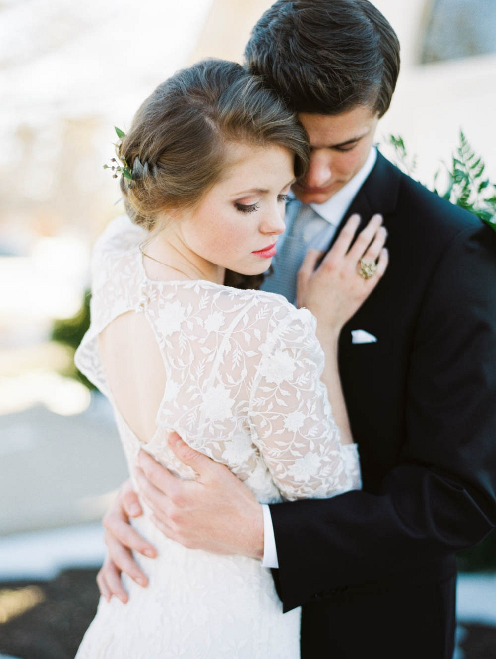 Classic Black and White Winter Wedding Ideas