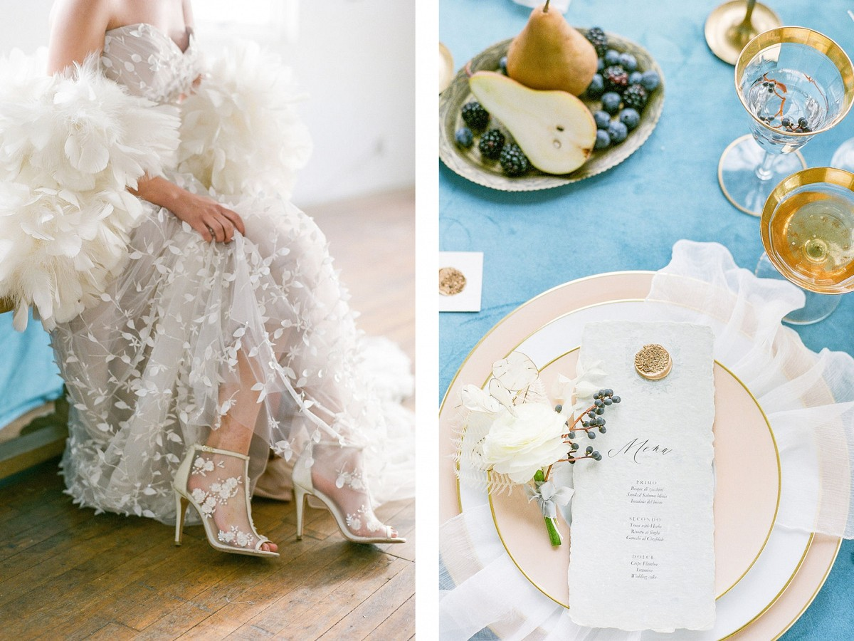 A Vision in Winter - Wedding Inspiration