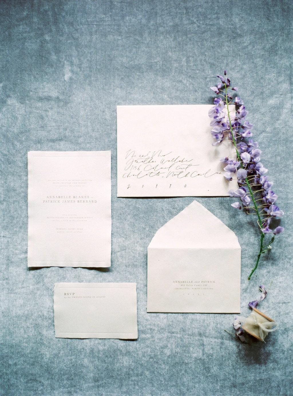 Elegant Wisteria Inspired Spring Bridals by Pia Clodi | Wedding Sparrow fine art wedding blog