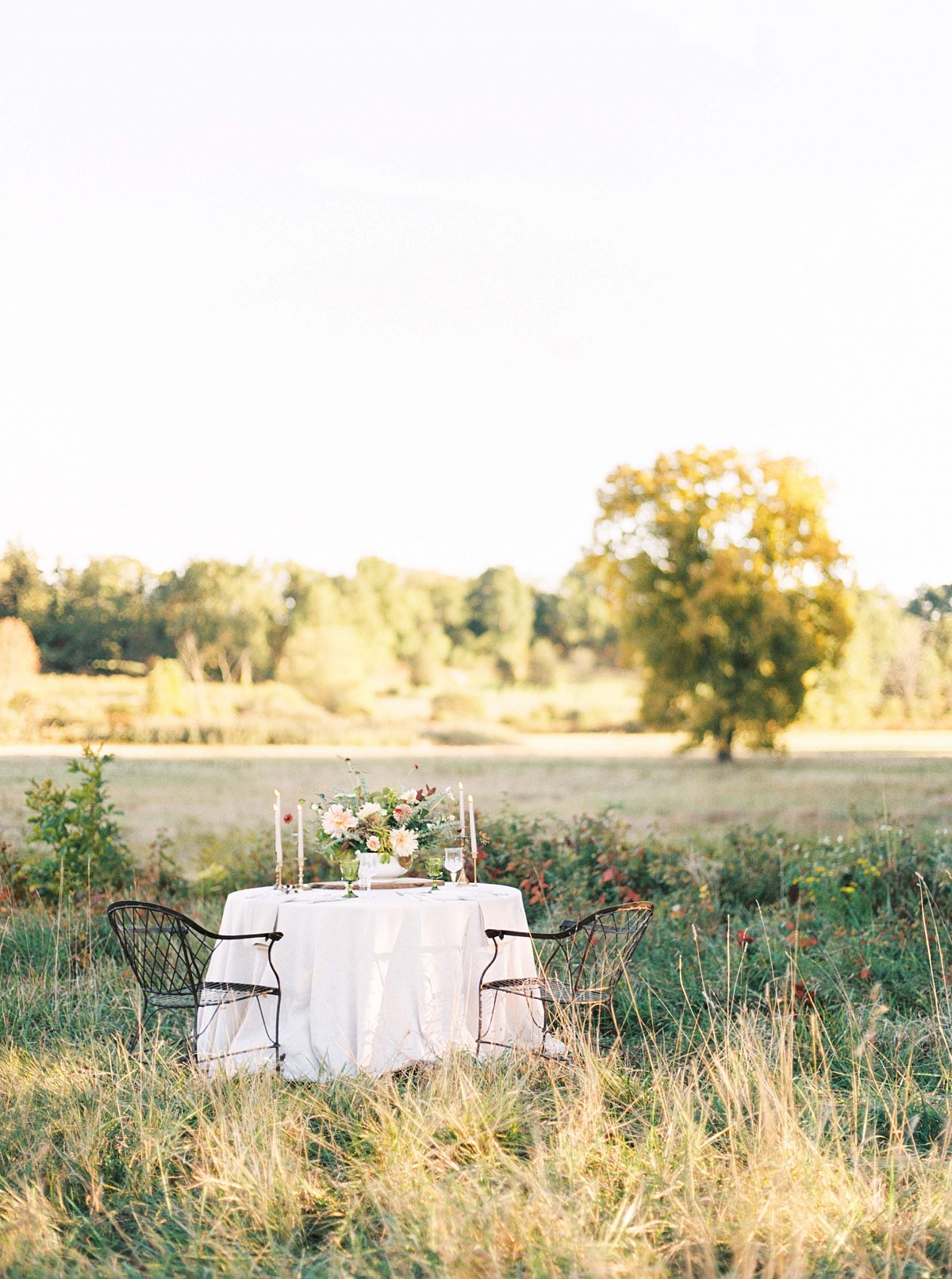Relaxed Farmhouse Style Bridals in New England