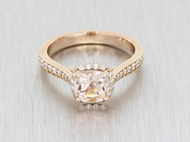 Durham Rose engagement rings