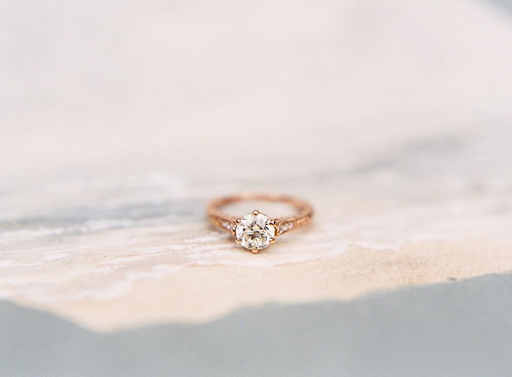 Kayla Barker - Rose gold engagement ring ideas