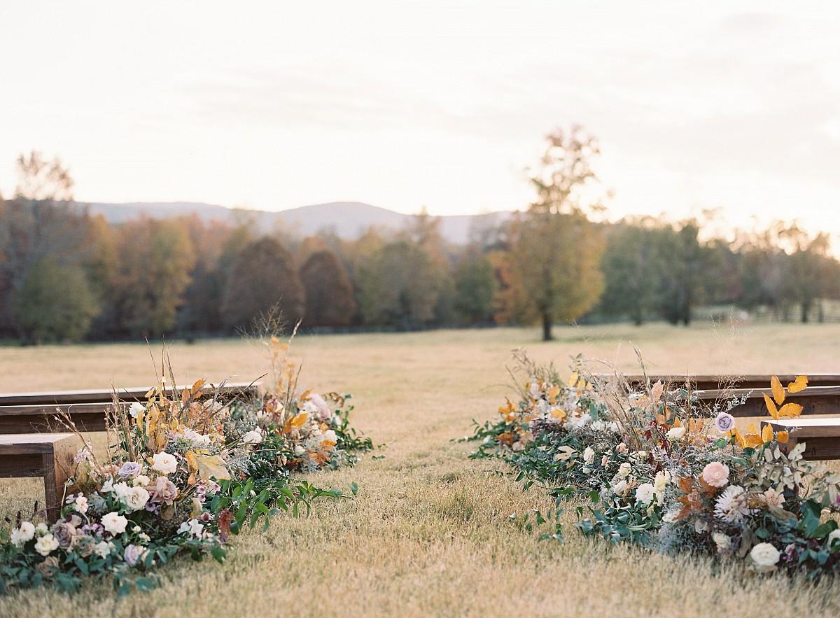 Bison Farm Wedding Ideas with Natural Color Palette
