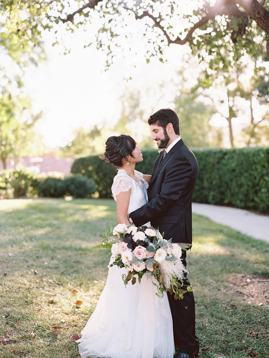 Intimate Backyard Real Wedding