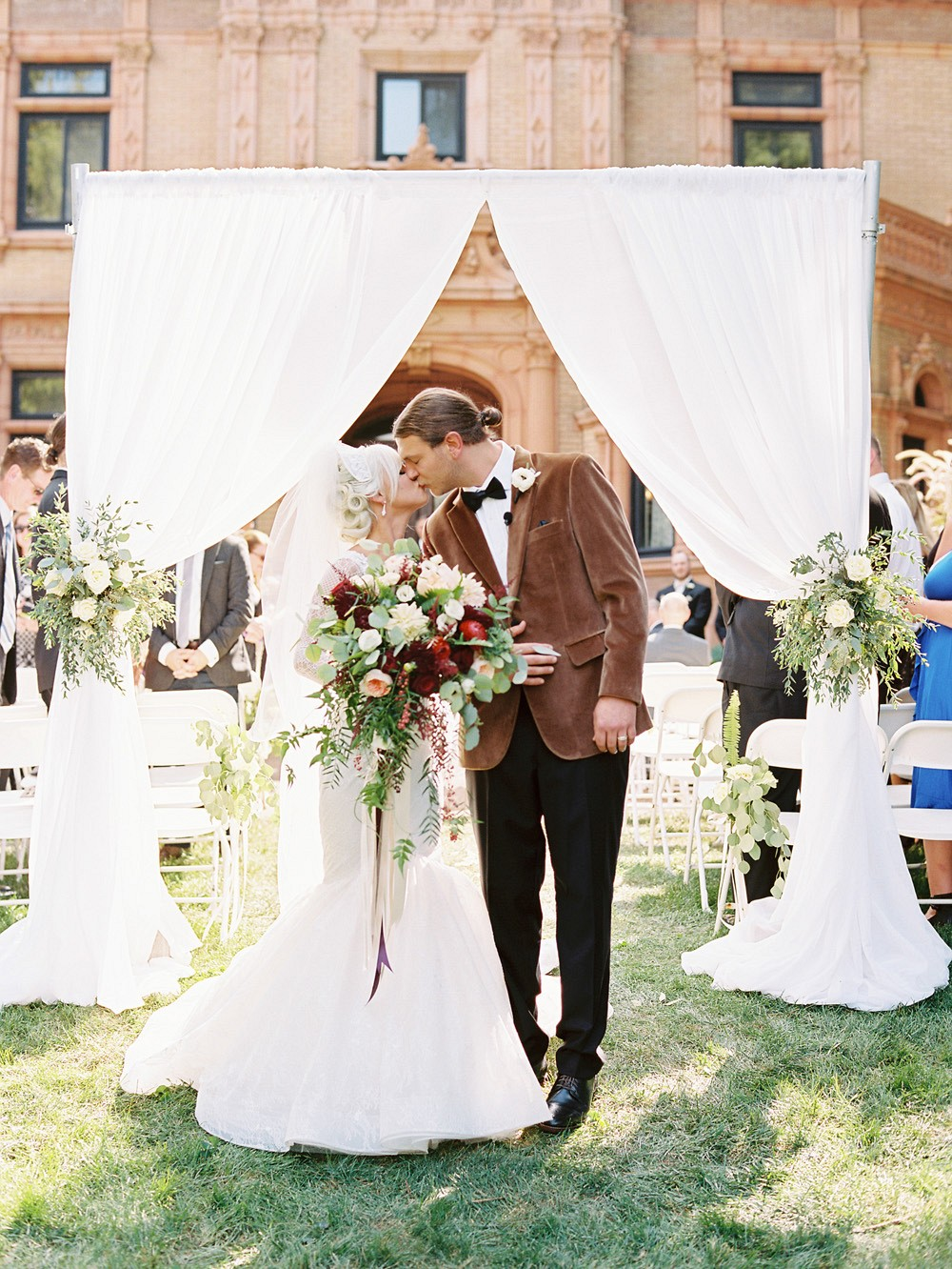 Art Deco 1920s inspired Mansion Wedding in St Louis