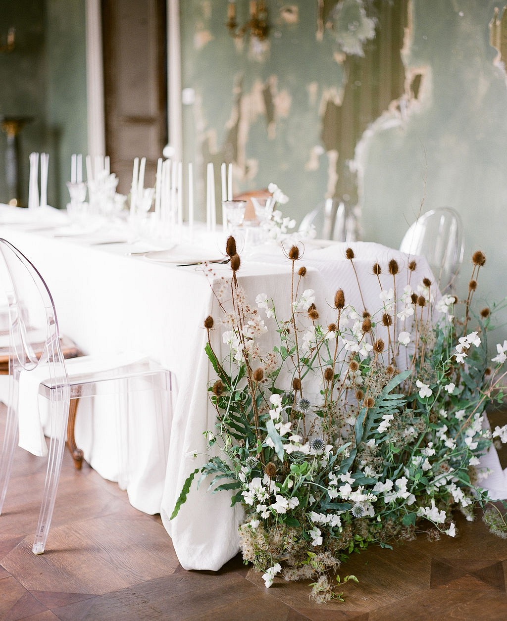 Modern Contemporary Chateau Wedding Ideas