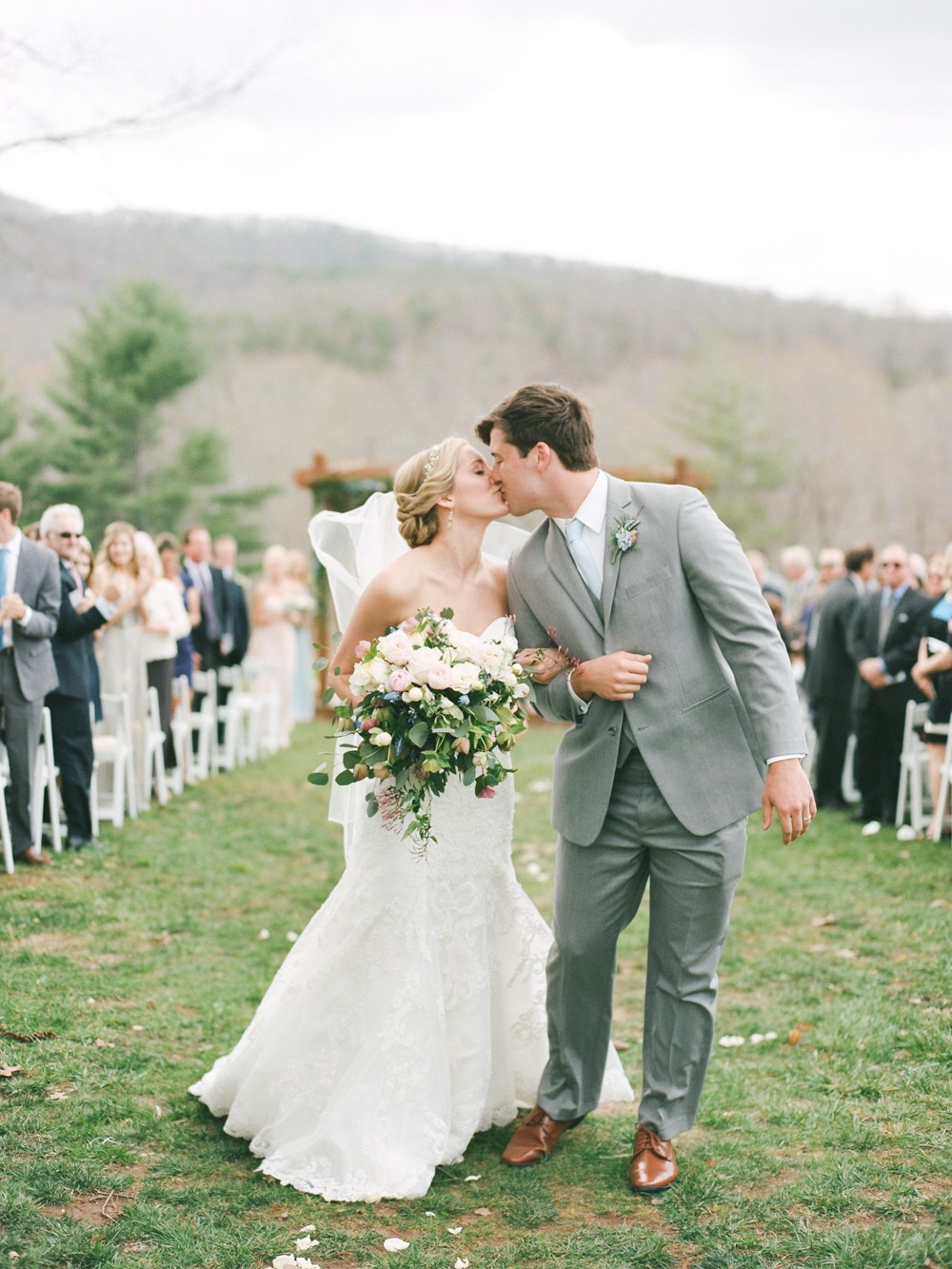 Classic Southern Wedding for High School Sweethearts