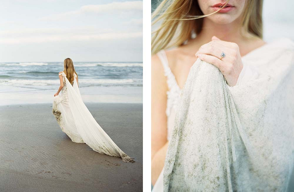 Oregon Coastline Wedding Inspiration by Donny Zavala Photography | Wedding Sparrow