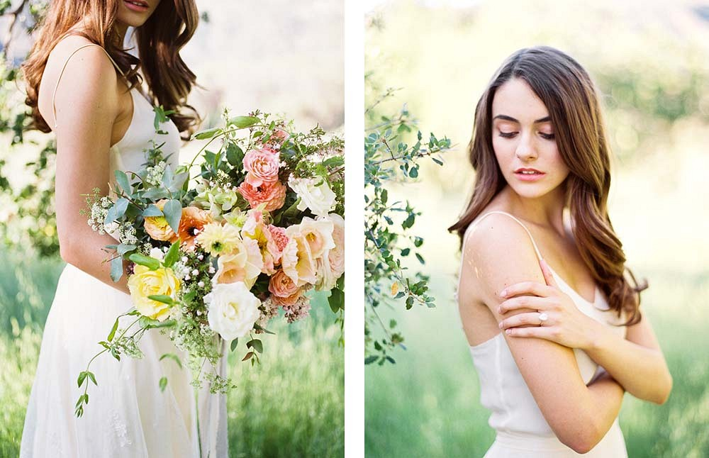 Luminous Malibu Bridal Session by Donny Zavala Photography | Wedding Sparrow | fine art wedding blog