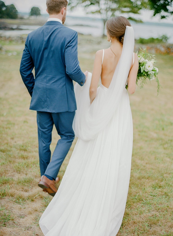 Chic Coastal New England Real Wedding