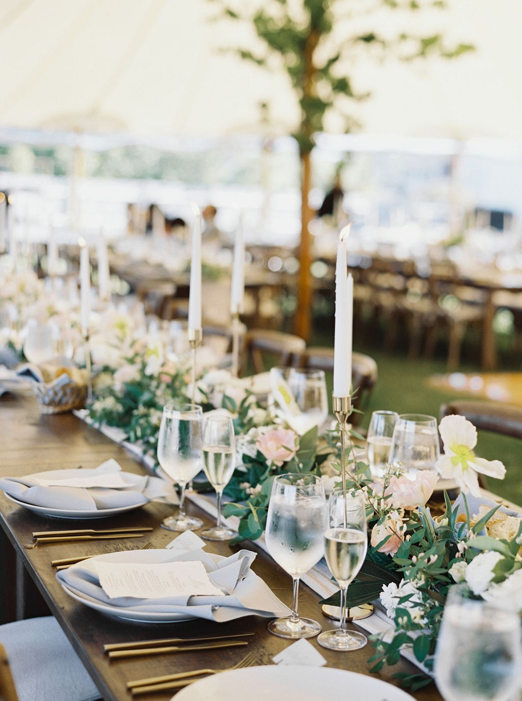 A Fresh & Elegant Seaside Celebration with Succulent Favors