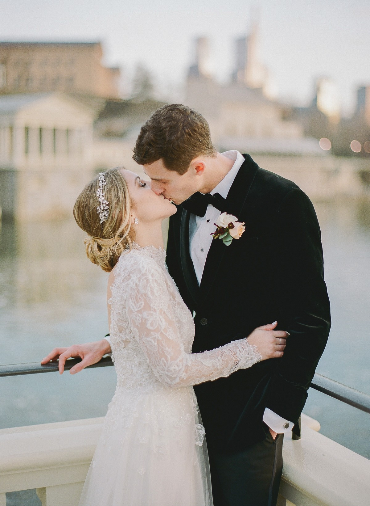 Bride Designs Her Own Dress for New Years Eve Wedding!