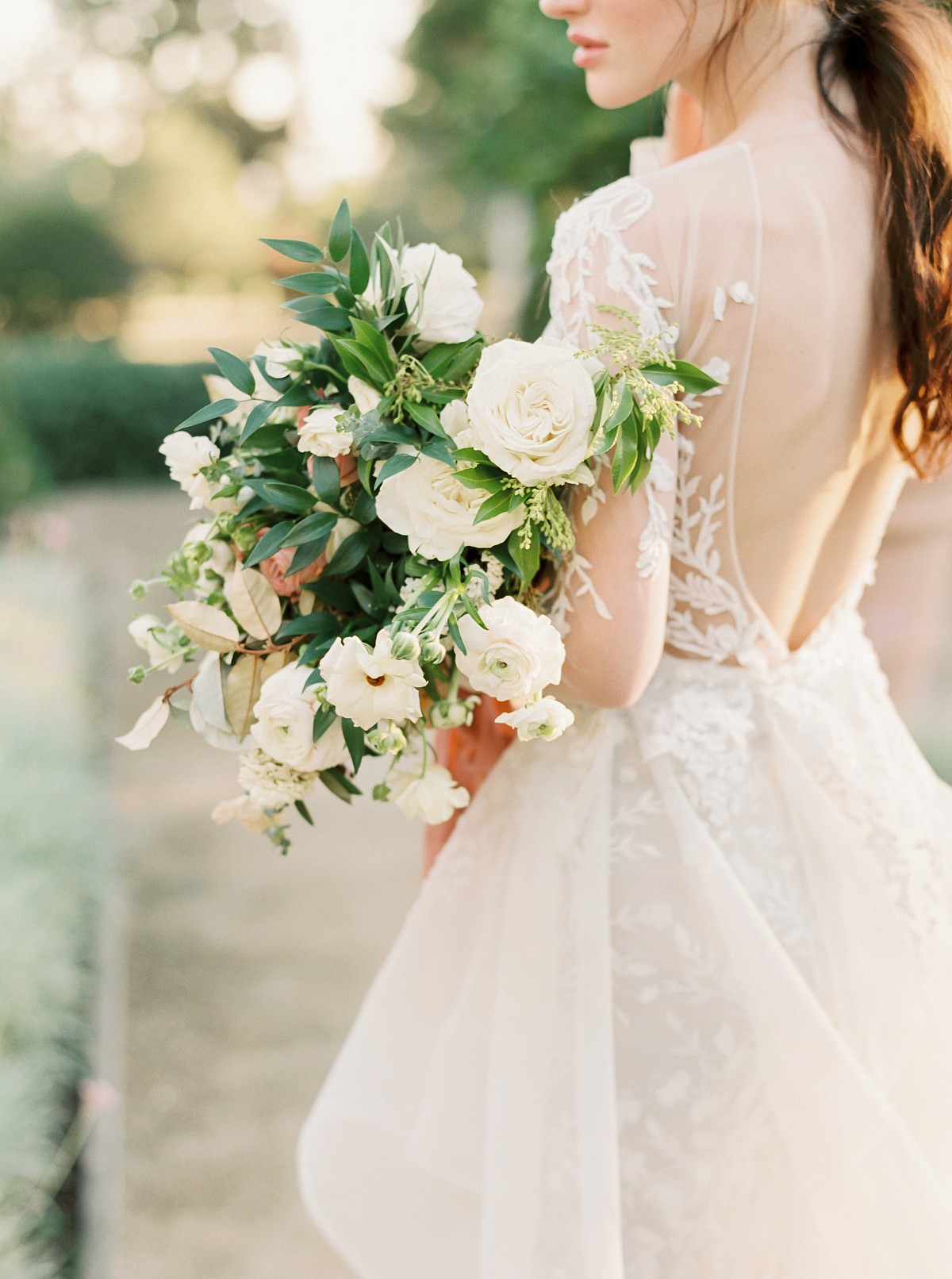 All ivory bouquet ideas