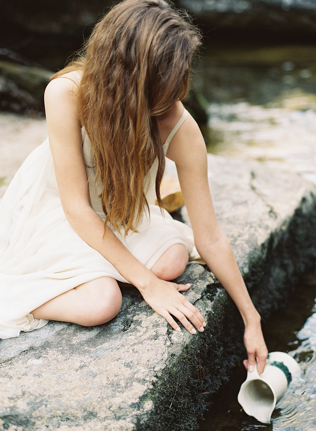 Earthy Waterfall Bridal Session