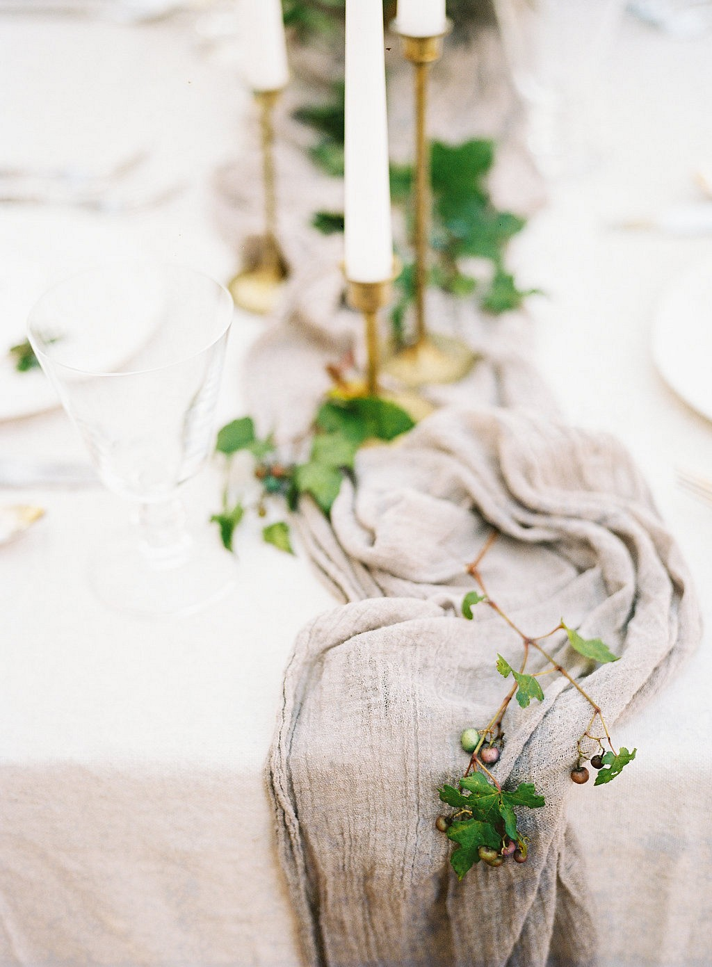 Autumnal organic wedding inspiration