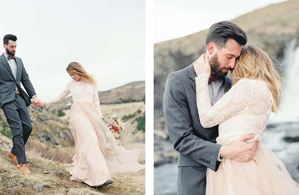 Iceland Wedding Inspiration by Lauren Fair