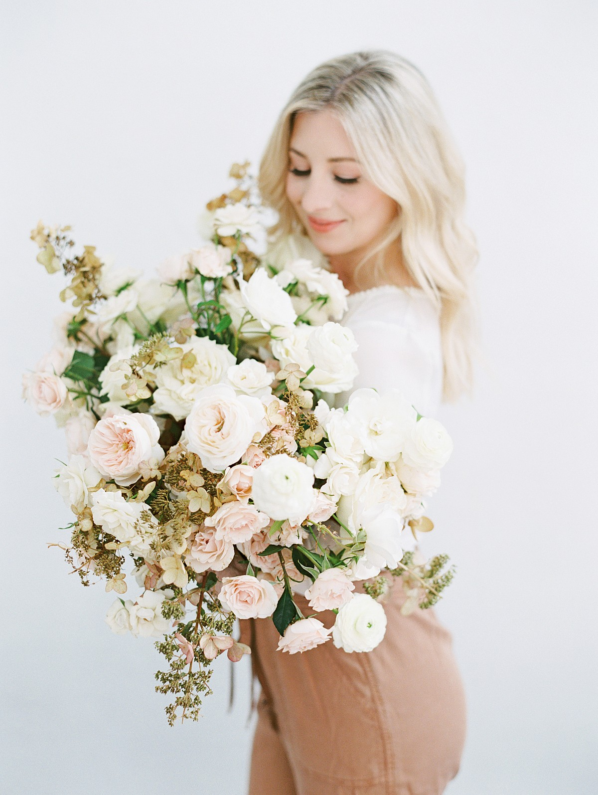 muted tone bouquet