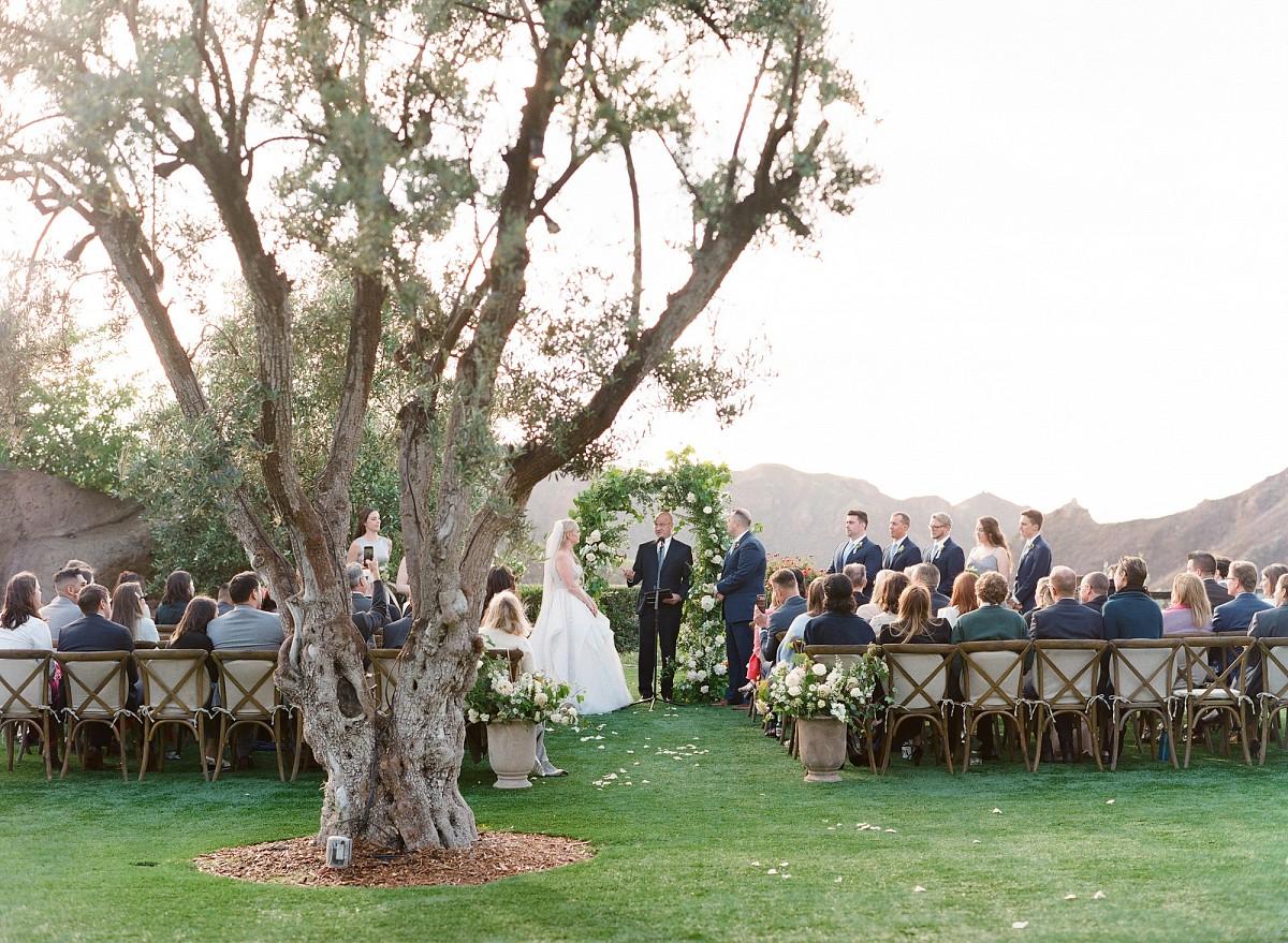 A Malibu Hills Wedding with Celestial Views