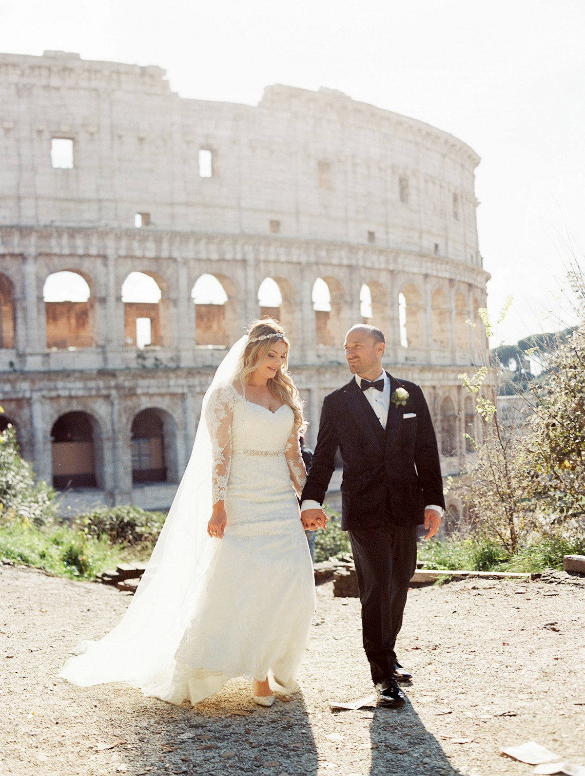 Intimate Rome Wedding - Joy & Matt