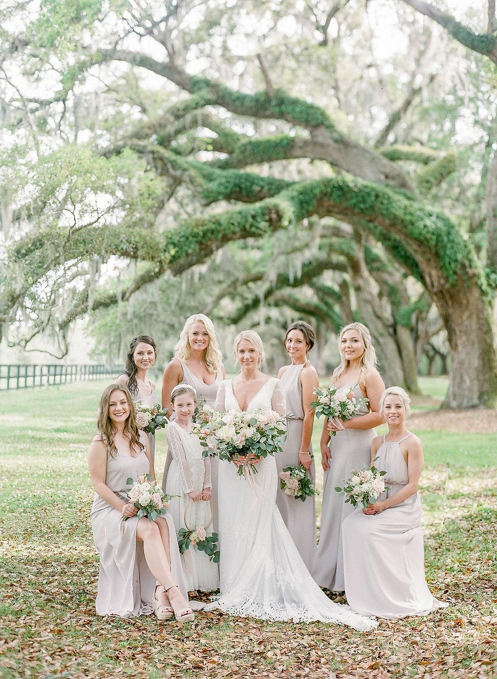 A Romantic and Classic Charleston Wedding
