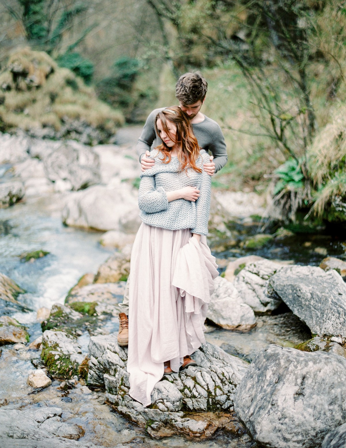 A Slow Italian Morning into an outdoor engagement session