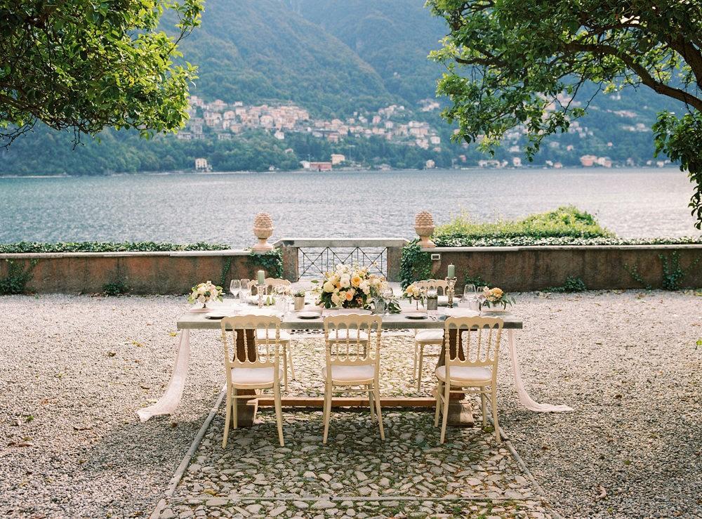 Queralt and Giulio's Lake Como Elopement