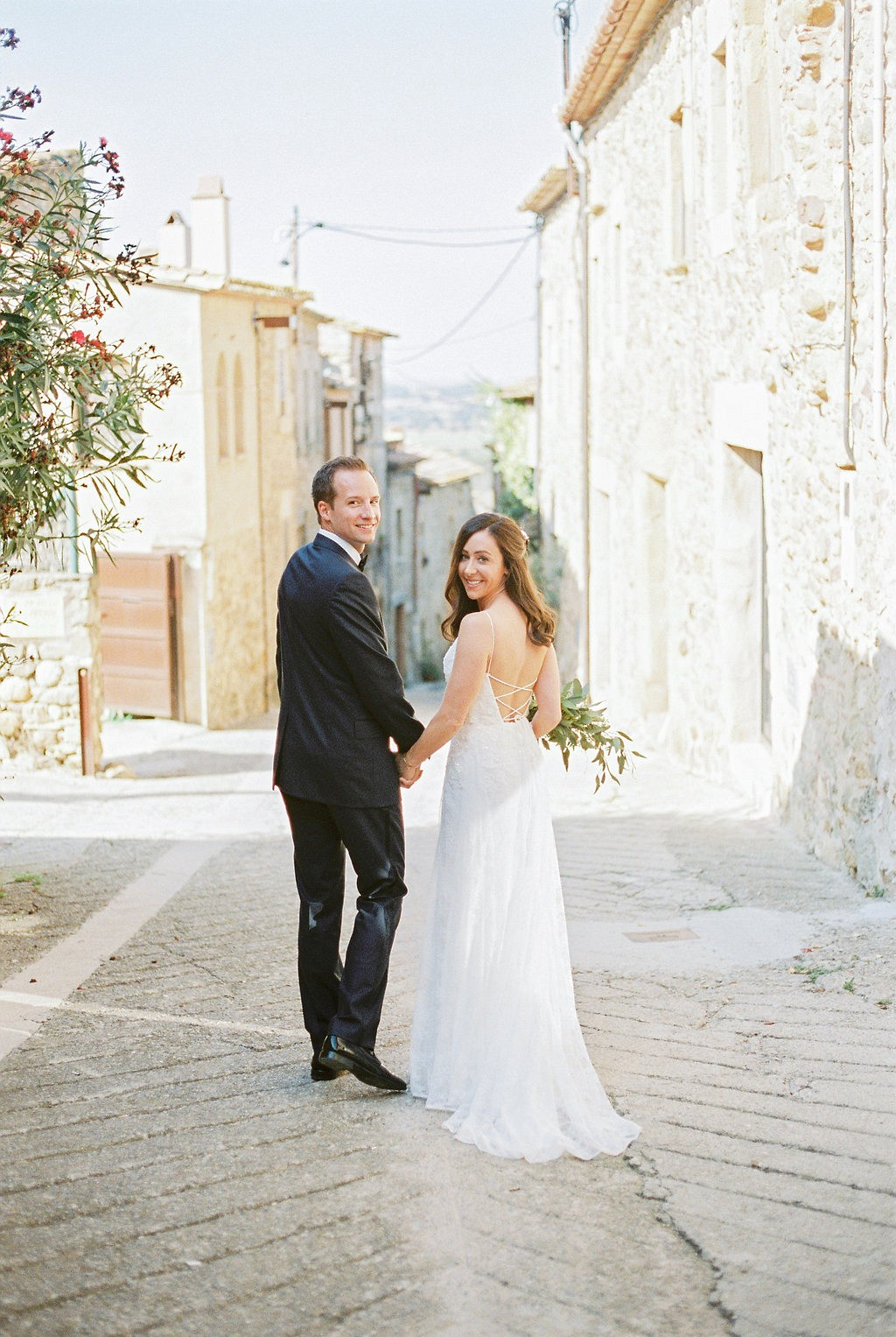 Destination Relaxed Mediterranian Real Wedding