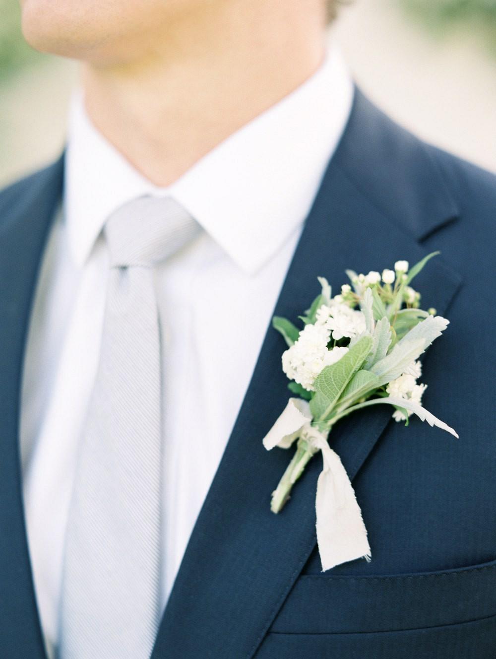 Kate and Scott's Classic, Neutral European-Inspired Garden Wedding