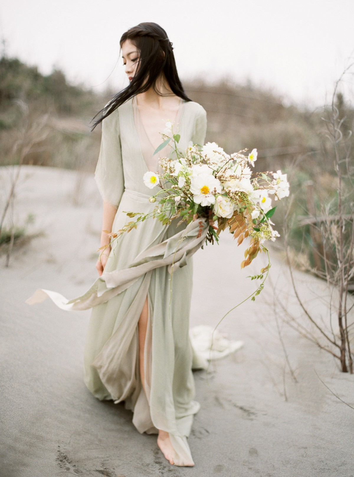 Refined Rustic Wedding Inspiration for Autumn in Taiwan