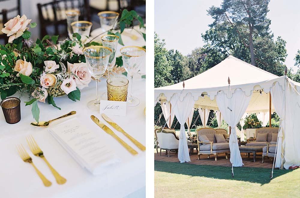 Adam and Amanda's Classic Estate Wedding | Wedding Sparrow