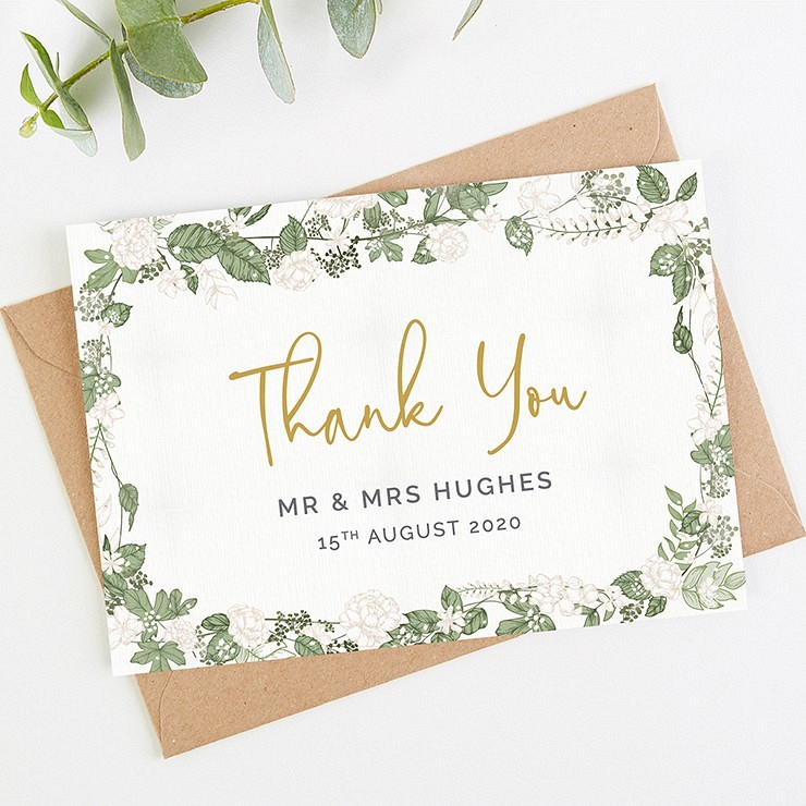 Checklist of all the wedding stationery you'll need for your big day