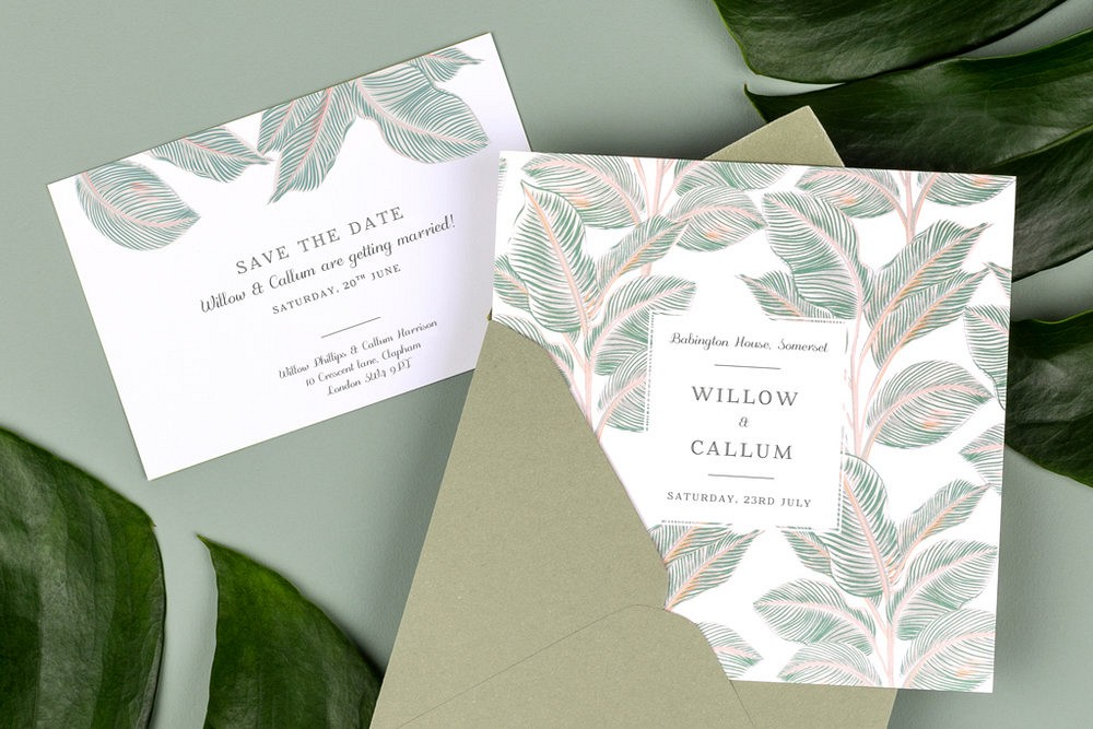 Rosemood wedding stationery