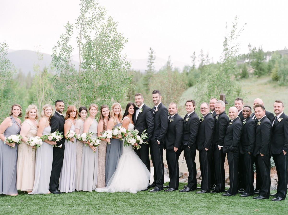 Chic Ranch Wedding with Mountain Views and Galia Lahav dress